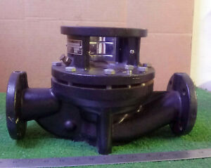 1 Used Grundfos Tp50 160 2 U g a bube 1 5hp Coupled In line Centrifugal Pump