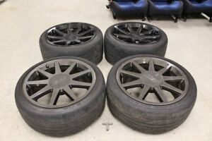 Borbet Tte 18 Staggered Wheels Rims Tires 18x10 18x8 5 In 5x114 3 40 45