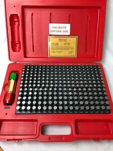 Starrett Pin Gage Set Minus 0 251 0 500 In S4005 500 Edp 67485