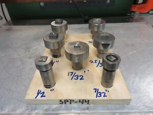 Punch Die Square Lot Roper Whitney Diacro Punch Die Punch Press