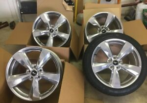 2018 Ford Mustang Gt Oem 19x8 5 In Wheels Set Of 4 Slightly Used