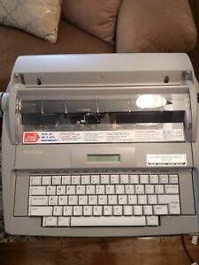 Brother Sx 4000 Electronic Typewriter Working Condition