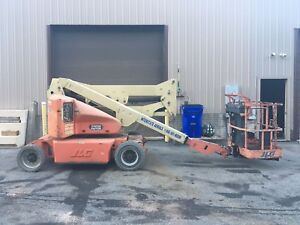 Jlg E400a Narrow 40 Electric Articulating Boom Man Lift