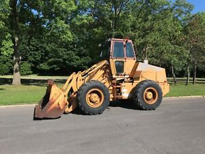Case Wheel Loader W 14 With Acs Coupler 1 064 Hours 4x4