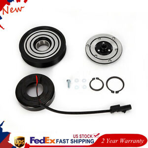 A C Ac Compressor Clutch Kit Pulley Bearing Coil Plate Fit For Jeep Liberty