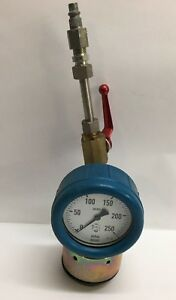 Wika Pressure Regulating Gauge With Valve Air Hose Pneumatic Control Valve