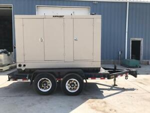125 Kw Katolight Generator Set 12 Lead Base Fuel Tank Weather Proof Enclo
