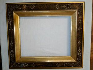 Gorgeous 19 Century Victorian Eastlake Aesthetic Burl Frame 14 1 2 By 12 3 4