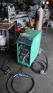 L tec Miller Hobart Mig Migmaster 250 Welder Weld Single Phase Garage Shop