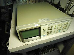 Hp Hewlett Packard Spectrum Analyzer Display