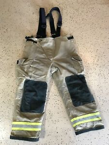 Globe Firefighter Suits Fire Turnout Pants Bunker Gear 40 28 05 2014