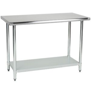 Commercial Stainless Steel Food Prep Work Table 14 X 36