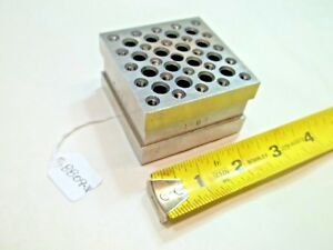 Machinist Grinding Block 48 10 32 Tapped Holes made By Tool Maker Usa