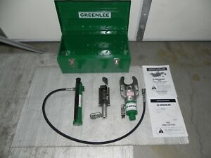 Greenlee 800 Hydraulic Cable Bender 751 m2 Cable Cutter With 767 Hand Pump