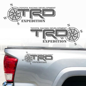 Tacoma Tundra Expedition Toyota Trd Truck Off Road Sport Decals Sticker Decal E3