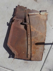 1935 1936 Ford Panel Truck Lower Hood Kick Patch Panel Driverside Left Cutout