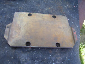 Vintage Ji Case 630 Gas Tractor battery Support Tray 1959