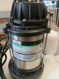 Wayne Cdu1000 1 Hp Submersible Cast Iron And Stainless Steel Sump Pump