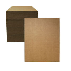 100 16 X 20 Corrugated Cardboard Pads inserts sheets 32 Ect Made In Usa