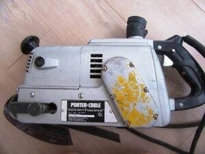 Porter Cable 503 Ehd Speedmatic 3 X 24 Locomotive Belt Sander Vintage