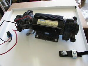 Used Snowex Salt Spreader Pre Wet High Flow Water Pump 80011 D6940
