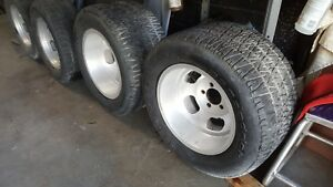 Vintage Us Mag Slot Wheels And Tire Camaro Chevy Pontiac Firebird Hotrod Belair