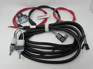 Meyer Snow Plow Toggle Switch Wiring Harness Kit W Power Wires 15478
