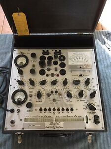 Hickok 539c Tube Tester With Ca 5 Universal Adapter