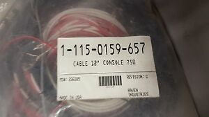 New Raven Scs 750 12 Console Control Cable 115 0159 657