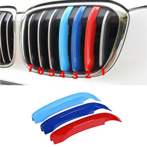 Abs Cars Parts Front Grille Grill Molding Cover Trim For Bmw X1 2016 2018