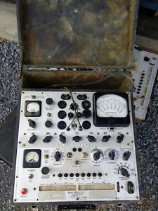 Hickok Hickock 539b Tube Tester Tube Checker Free Shipping In Conus