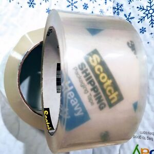 36 Rolls 3m Scotch 3850 Shipping Packaging Heavy Duty Clear Tape Very Strong Usa
