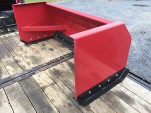New Quality 6 Snow Pusher Box Blade For John Deere Tractor Low Cost Shipping