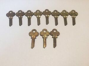 Jeco And Curtis Brand Key Blanks El5 Set Of 11 Locksmith