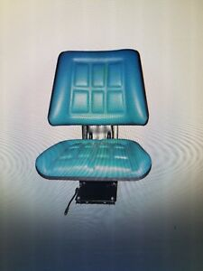 Tractor Seat With Suspension Blue Black Yellow Specify