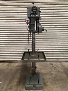 Clausing 2227 20 Variable Speed Drill Press Power Down Feed gmt 1691