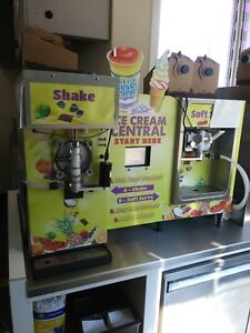 Icecream Central Machine 2 Years Old Only Used 1 Year