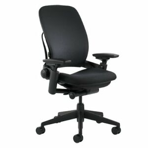 Steelcase Leap Chair Black Fabric fba_46216179