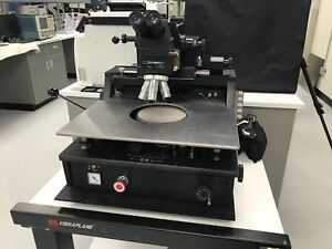 Micromanipulator Probe Station W Mitutoyo Microscope Head And Lenses