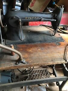 Industrial Commercial Singer Sewing Machine Model 96 10