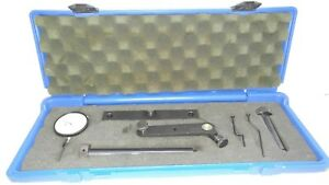 Central Tool Company Complete Dial Gauge Set With Case U s a