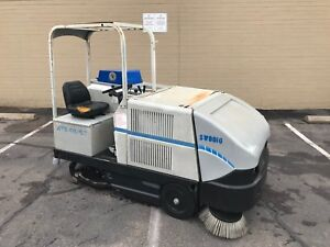 Sweeper Scrubber American Lincoln Ats 46 53 Tennant Powerboss Advance