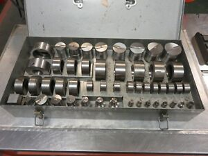 Punch Die Set Di acro No 2 Punch Pak Diacro Roper Whitney 1 16 2 Punch die