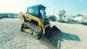 2016 Caterpillar 239d Cab A c Hyd Quick Attach Track Skid Steer Used