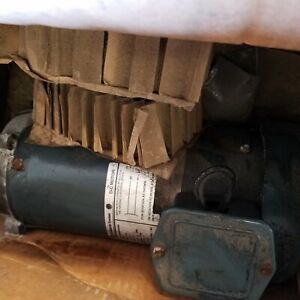 Ge 5bpa56rag8a 1hp Dc Electric Motor