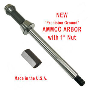 Ammco 1 Brake Lathe Arbor Shaft 3101 New Arbor Nut 3102 New Free Shipping