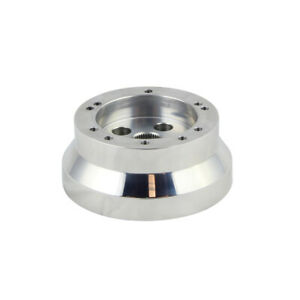 5 6 Hole Steering Wheel Polished Short Hub Adapter Ididit Gm Chevy