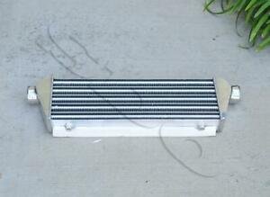 Polished Universal Intercooler For Turbocharger Supercharger 27 5 x7 x2 5