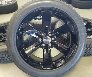 Oem 22 Gm Black Wheels And Tires Ck162 Chevy Gmc