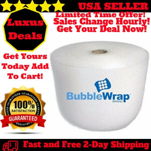 Bubble Wrap Small Size Bubbles Roll For Moving Storage Packing 3 16 175 Ft X12